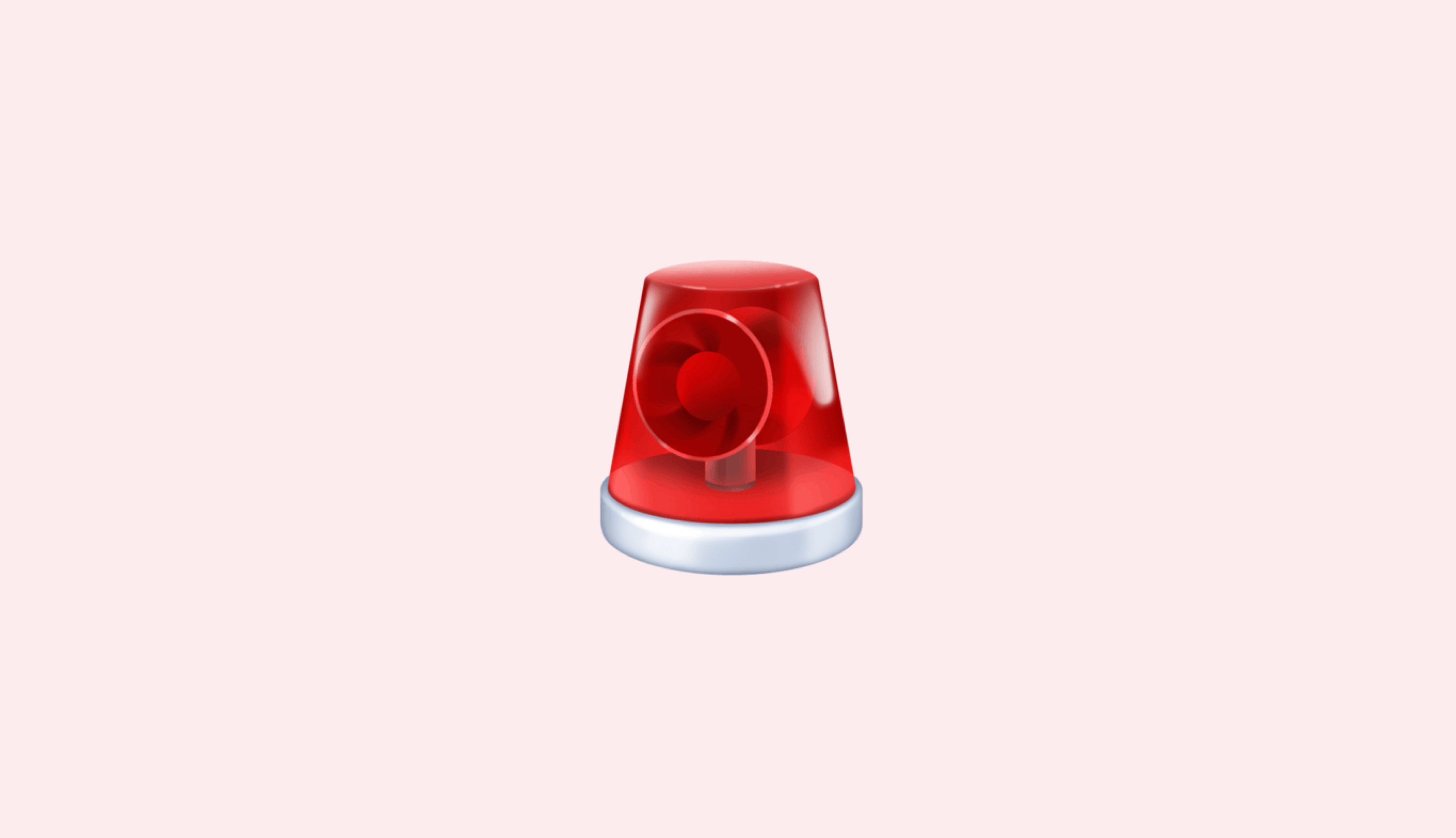 Title: Should I Use My HSA As an Emergency Fund? Graphic: red emoji siren