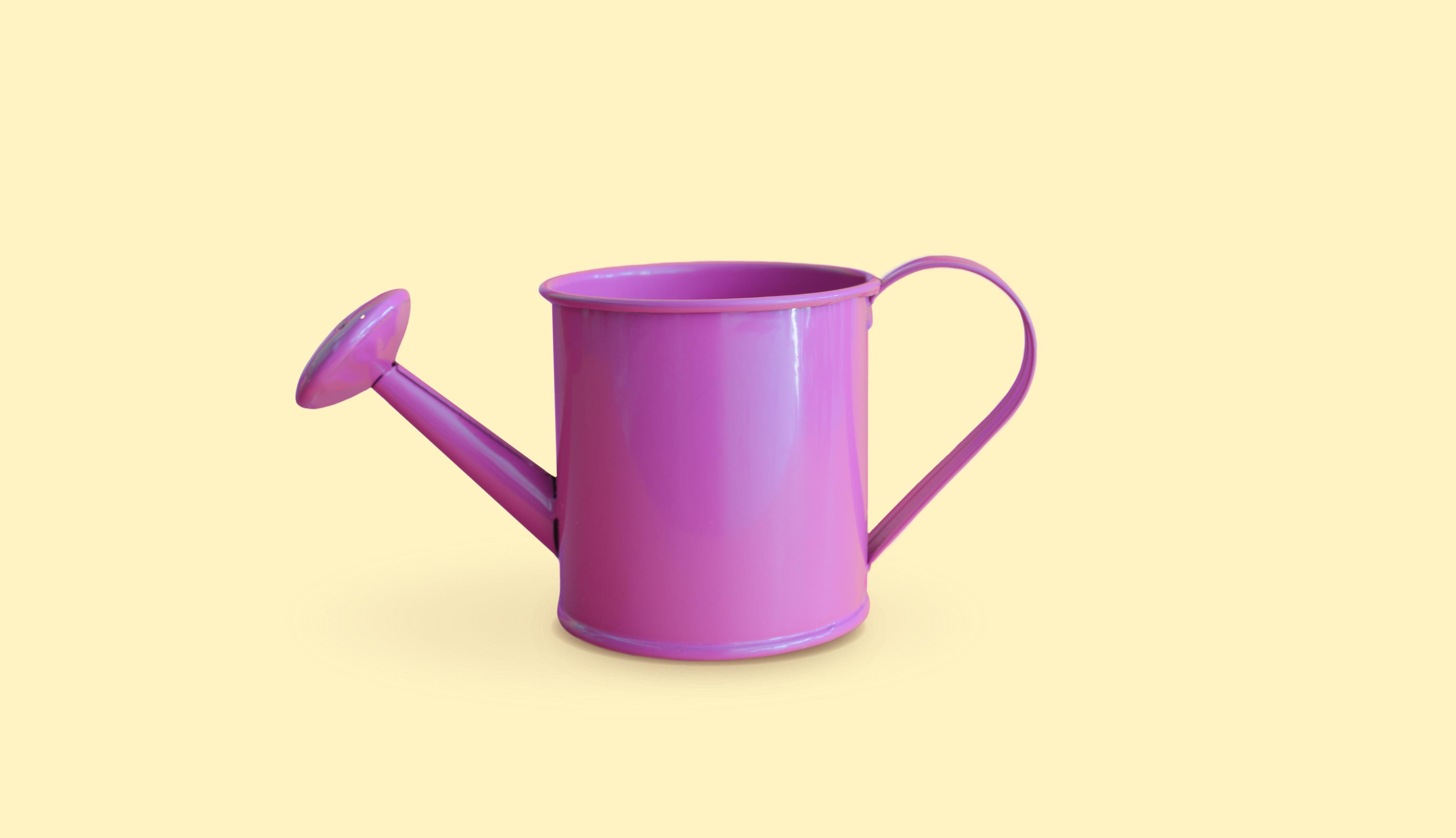 Title: Here's How an HSA Can Extend the Quality of Your Life Graphic: yellow background with a watering can to depict growth