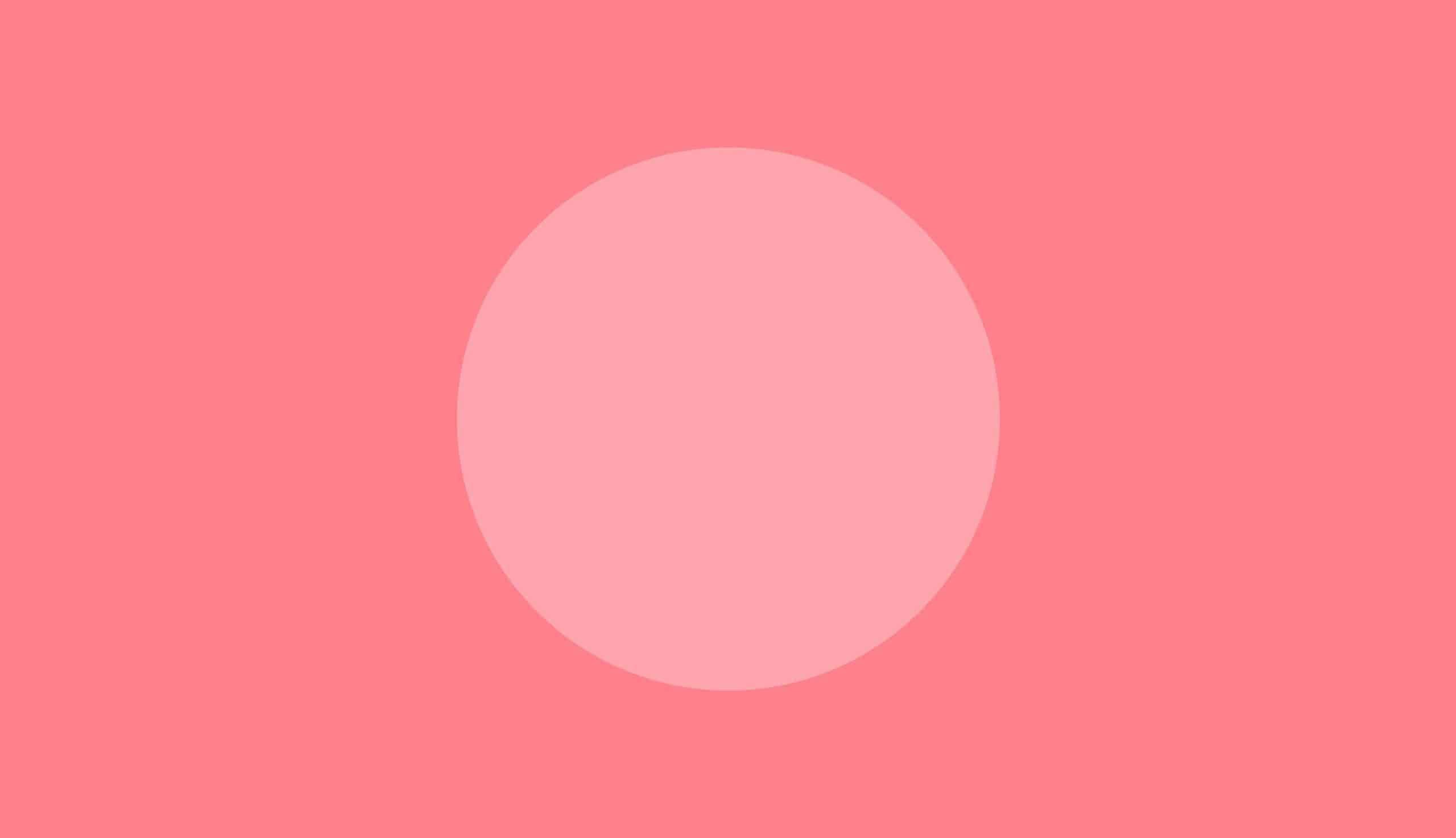 pink dot on a pink background