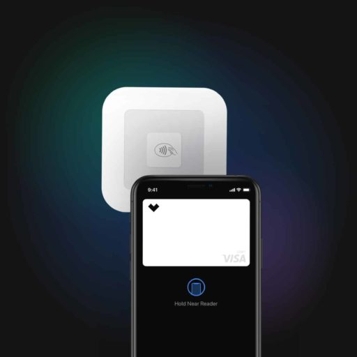 image of digital wallet in use
